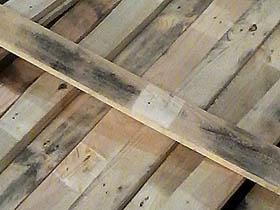 pallet wood planks
