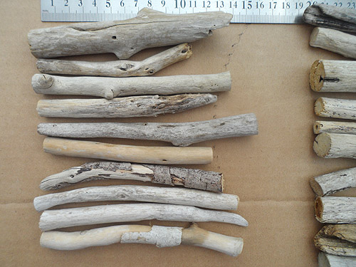 driftwood lot 150119A 10 to 15cm pieces