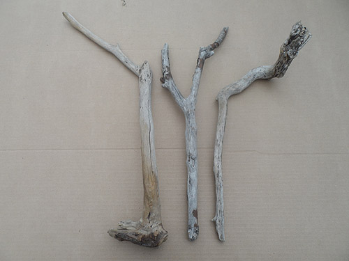 driftwood lot 250119C - three pieces
